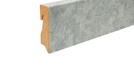 planeo Sockelleiste - Beton grau 465 - 16 x 58 mm