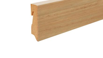 planeo Sockelleiste - Eiche klassik-braun 480 - 16 x 58 mm