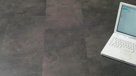 KWG Vinylboden - Antigua Classic hydrotec Lava - Klick-Vinyl Fliese