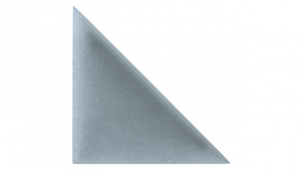 planeo SoftWall - Akustik Wandkissen 30x30cm Silbergrau Dreieck 2Stk.