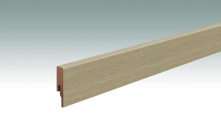 MEISTER Sockelleisten Fußleisten Stieleiche pure 6985 - 2380 x 60 x 16 mm