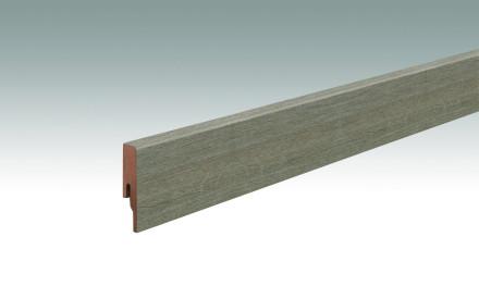 MEISTER Sockelleisten Fußleisten Altholzeiche lehmgrau 6986 - 2380 x 60 x 16 mm