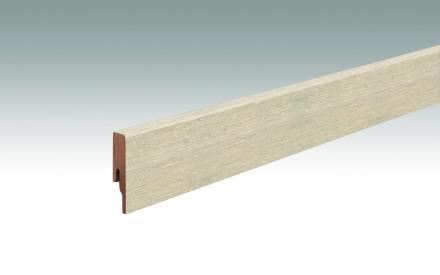 MEISTER Sockelleisten Fußleisten Eiche Lakeside 6990 - 2380 x 60 x 16 mm