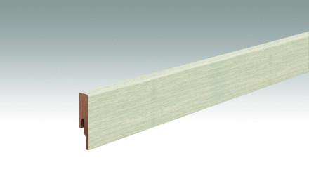 MEISTER Sockelleisten Fußleisten Polareiche 6994 - 2380 x 60 x 16 mm