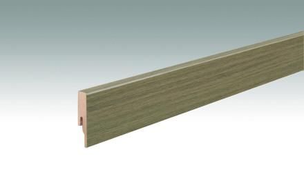 MEISTER Sockelleisten Fußleisten Eiche Westcoast 7402 - 2380 x 60 x 16 mm