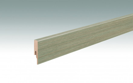 MEISTER Sockelleisten Fußleisten Eiche Baywood 7404 - 2380 x 60 x 16 mm
