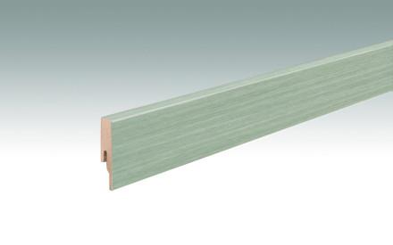MEISTER Sockelleisten Fußleisten Eiche Saltlake 7405 - 2380 x 60 x 16 mm