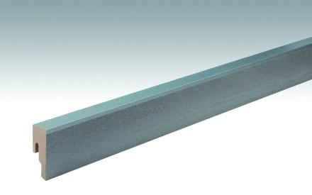 MEISTER Sockelleisten Fußleisten Hickory betongrau 6223 - 2380 x 50 x 18 mm