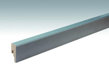 MEISTER Sockelleisten Fußleisten Strukturbeton warmgrau 6314 - 2380 x 50 x 18 mm