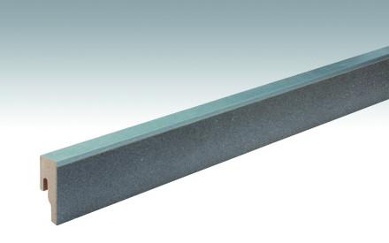 MEISTER Sockelleisten Fußleisten Schiefer arcticgrau 6478 - 2380 x 50 x 18 mm