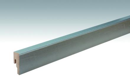 MEISTER Sockelleisten Fußleisten Rustic cremegrau 6480 - 2380 x 50 x 18 mm