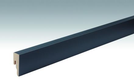 MEISTER Sockelleisten Fußleisten Anthrazit DF 059 - 2380 x 50 x 18 mm