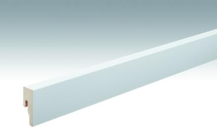 MEISTER Sockelleisten Fußleisten Weiß streichfähig DF 2222 - 2380 x 50 x 18 mm
