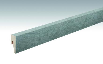 MEISTER Sockelleisten Fußleisten Schiefer grau 6136 - 2380 x 50 x 18 mm
