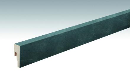 MEISTER Sockelleisten Fußleisten Schiefer anthrazit 6137 - 2380 x 50 x 18 mm