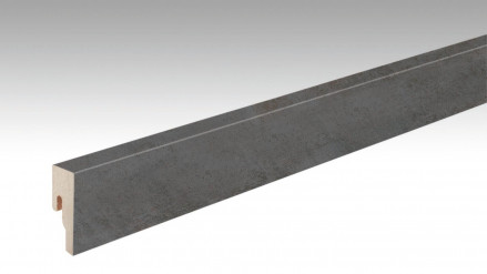 MEISTER Sockelleisten Fußleisten Copper Iron 6857 - 2380 x 50 x 18 mm