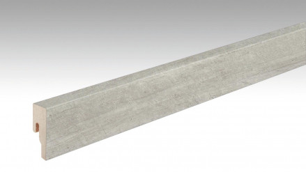 MEISTER Sockelleisten Fußleisten Layer Stone 6860 - 2380 x 50 x 18 mm