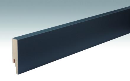 MEISTER Sockelleisten Fußleisten Anthrazit DF 059 - 2380 x 80 x 18 mm