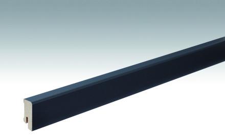 MEISTER Sockelleisten Fußleisten Anthrazit DF 059 - 2380 x 38 x 16 mm