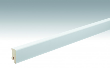 MEISTER Sockelleisten Fußleisten Weiß streichfähig DF 2222 - 2380 x 38 x 16 mm