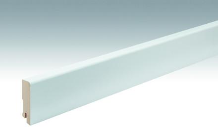 MEISTER Sockelleisten Fußleisten Weiß streichfähig DF 2222 - 2380 x 60 x 16 mm