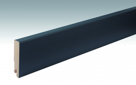 MEISTER Sockelleisten Fußleisten Anthrazit DF 059 - 2380 x 80 x 16 mm