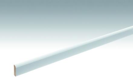 MEISTER Sockelleisten Fußleisten Uni weiß glänzend DF 324 - 2380 x 25 x 6 mm