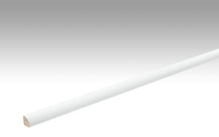 MEISTER Sockelleisten Fußleisten Uni weiß glänzend DF 324 - 2380 x 12 x 12 mm