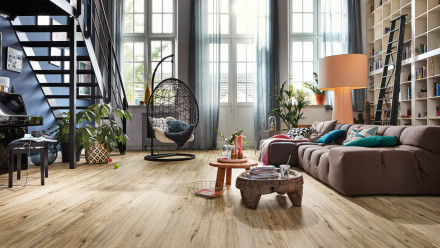 MEISTER Bio-Klick Designboden - MeisterDesign comfort DD600S Eiche Lakeside 6990