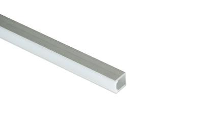 LED Aluprofil 17×17,5×2500 Aluminium / Kunststsoff