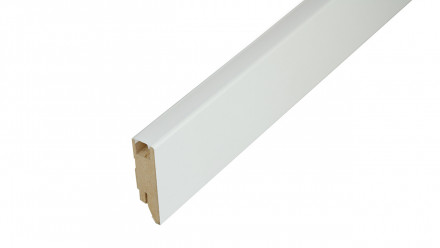 LED Sockelleiste Grundierfolie/weiß