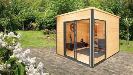 planeo Gartenhaus - Systemhaus Studio 44-B