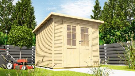 planeo Gartenhaus - Systemhaus Pulti Softline 2424 Natur
