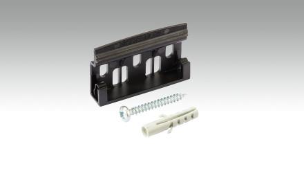 Planeo Befestigungsclips Kunststoff passend zu Planeo Fußleisten - 50 Stk. pro Packung