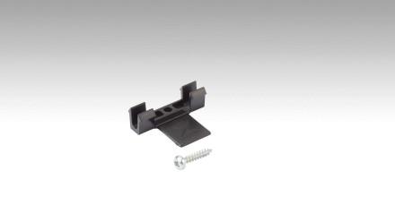 MEISTER Befestigungsklipps Kunststoff passend zu Meister Deckenabschlussleisten, Rund-Deckenabschlussleisten und Vierkant-Deckenabschlussleisten - 50 Stk. pro Packung