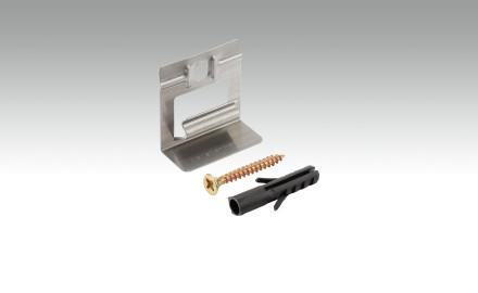 MEISTER Befestigungsklipps Metall - 50 Stk. pro Packung