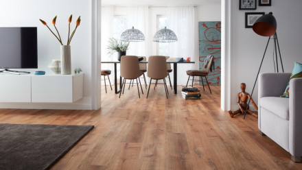 planeo Objekt Plus - Golden Oak Natural Klick-Vinyl