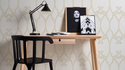 Vinyltapete Meistervlies 2020 Architects Paper Ornamente Weiß Überstreichbar 701
