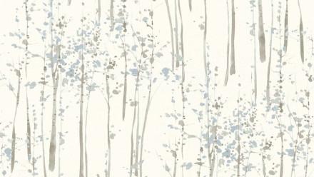 Vinyltapete weiß Modern Klassisch Blumen & Natur Scandinavian 2 861