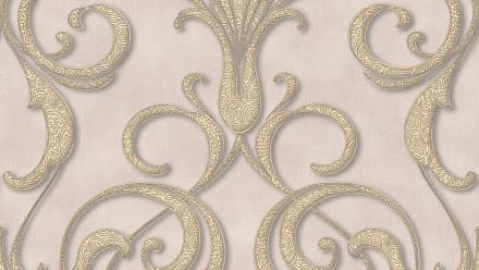 Vinyltapete Nobile Architects Paper Ornamente Braun Metallic Lila 922