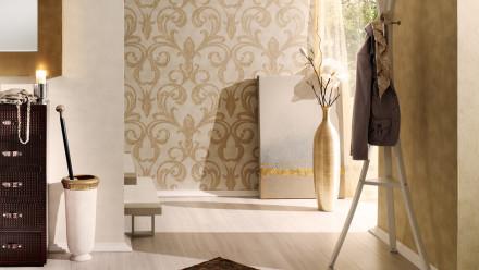 Vinyltapete Nobile Architects Paper Gelb Metallic 935