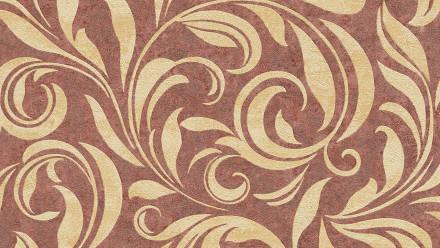 Vinyltapete Nobile Architects Paper Vintage Ornamente Beige Metallic Rot 403