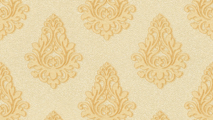 Vinyltapete Nobile Architects Paper Ornamente Gelb Metallic 813