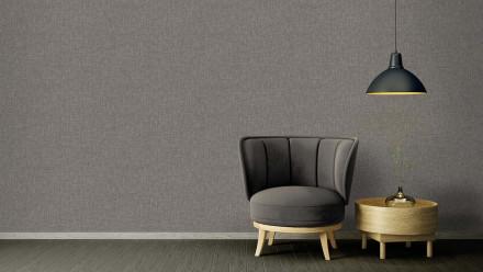 Vinyltapete Strukturtapete grau Modern Uni Versace 4 337