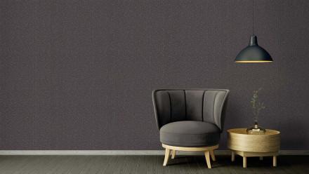 Vinyltapete Strukturtapete schwarz Klassisch Retro Uni Versace 2 383