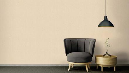 Vinyltapete Strukturtapete beige Klassisch Retro Uni Versace 2 384