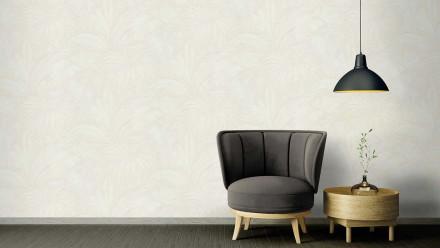 Vinyltapete creme Modern Blumen & Natur Versace 2 402