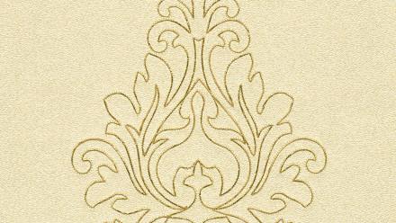 Vinyltapete Nobile Architects Paper Ornamente Gelb Metallic 822