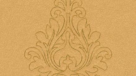 Vinyltapete Nobile Architects Paper Ornamente Gelb Metallic Orange 823