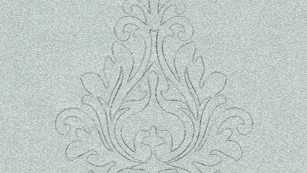Vinyltapete Nobile Architects Paper Ornamente Grau Metallic 825